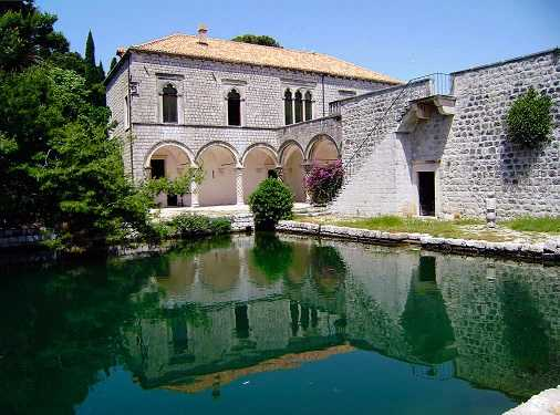Renaissance villa in Dubrovnik, Croatia