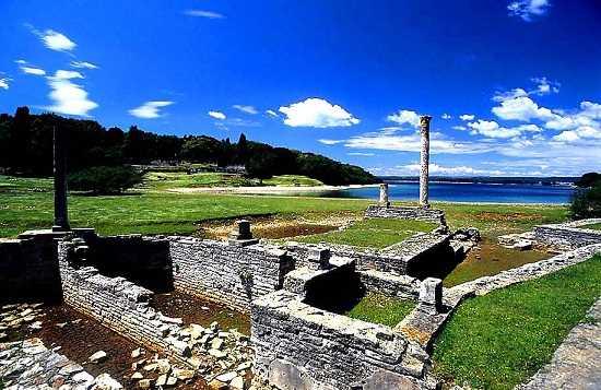luxury Roman villa on Brijuni, Croatia