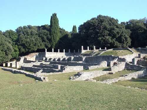 luxury Roman villa on Brijuni islands
