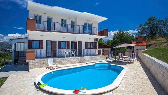 Villas Split Croatia  Family Villa in Split with pool, peaceful area