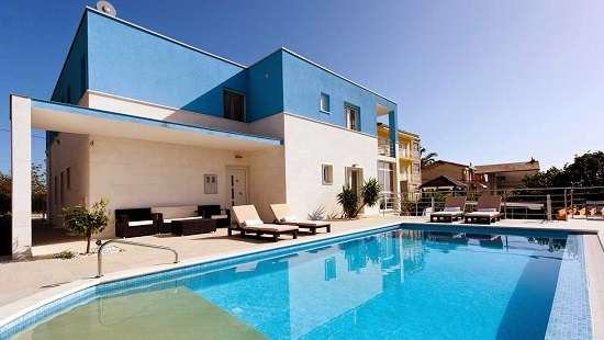 Villas Split Croatia Luxury Holiday Villa with pool near beach & Split