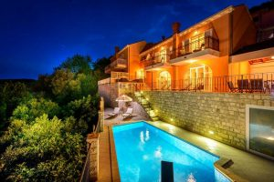Dubrovnik Riviera Villa with pool and panoramic sea view