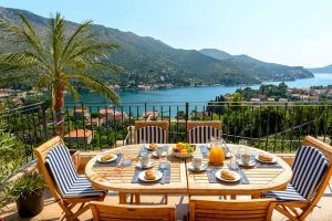 Dubrovnik Riviera Villa with pool and sea view