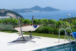 Modern Croatia Luxury Villa Dubrovnik Riviera with private pool