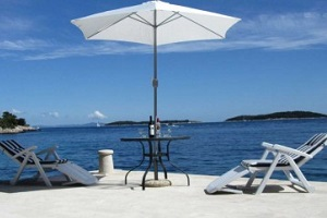Luxury Holiday Villa Hvar Croatia with sea view