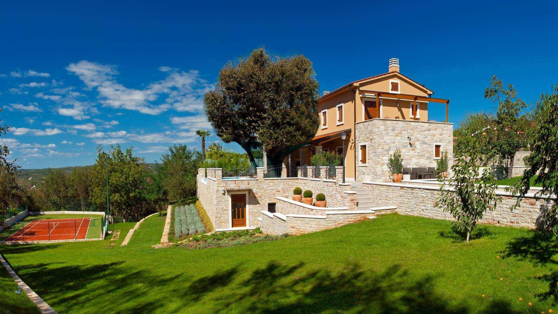 Holiday Villas in Istria Croatia with pools Rovinj Porec Umag