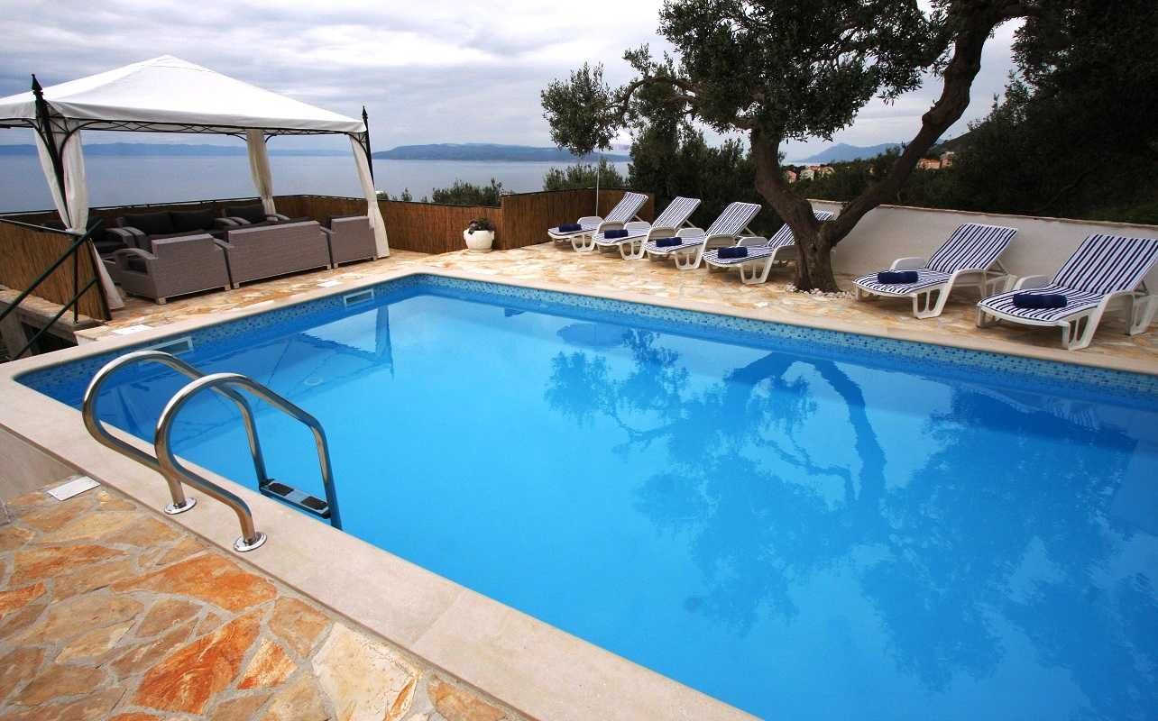 Makarska Holiday Villa With Pool And Sea View
