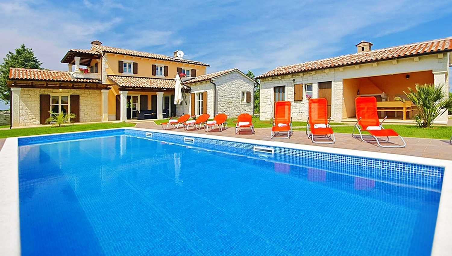Private Holiday Villa In Istria Country With Pool