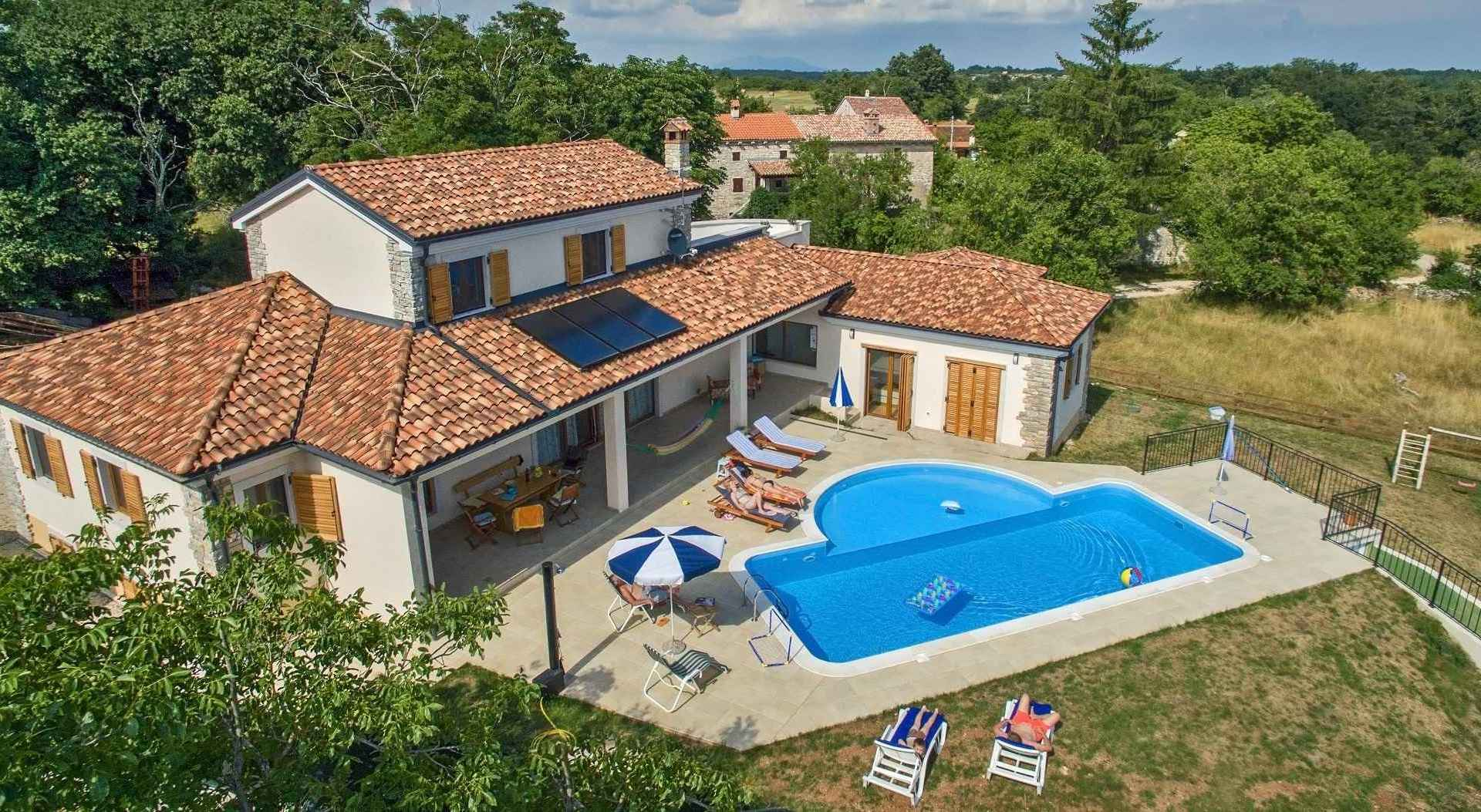 Family Holiday Villa in Istria with pool and full privacy