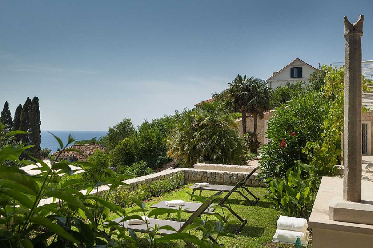 luxury villa dubrovnik old town with pool  u0026 sea view