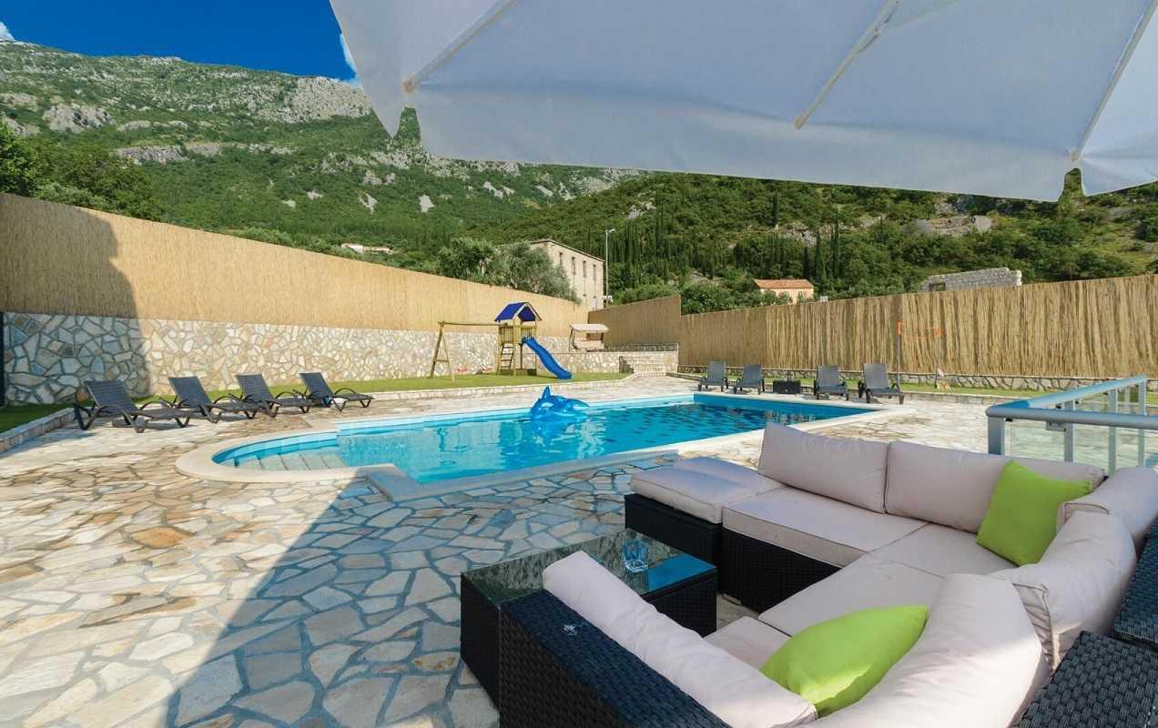 Private Villa Near Dubrovnik With Pool Garden Jacuzzi