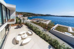 Croatia Beach Villa with pool Exclusive Spa Holiday Villa Beach Resort with pool
