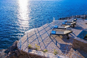 Beach Luxury Villa in Dubrovnik with pool, sauna