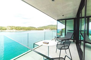 Beachfront Luxury Villa Dubrovnik Croatia with pool, elevator