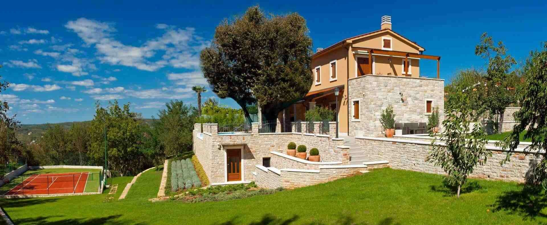 Private Villas in Istria Croatia